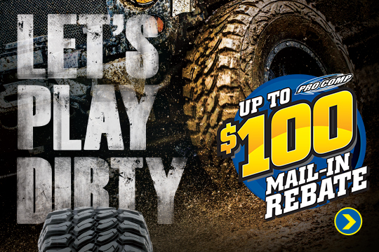 Save up to $100 on ProComp Tires