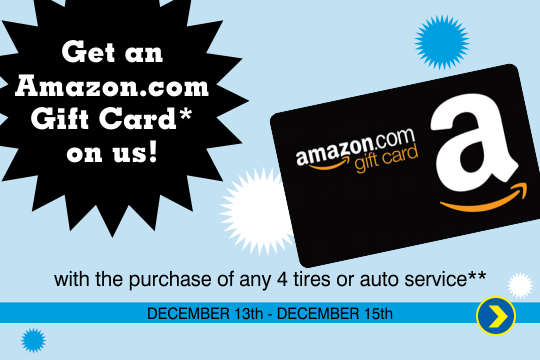 Get a Gift Card for The Largest Online Retailer with any Purchase