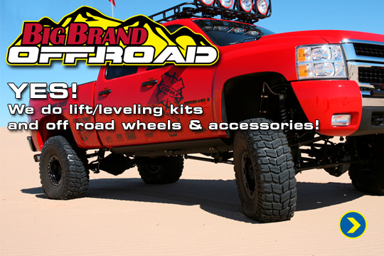 Big Brand Off Road Wheels and Accessories