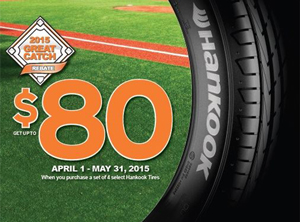 Hankook Mail-in Rebate