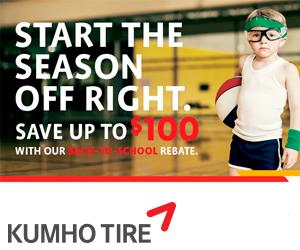 Kumho Tire Visa® Prepaid Card
